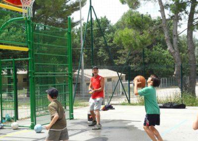 stage multi-sports enfants baskets