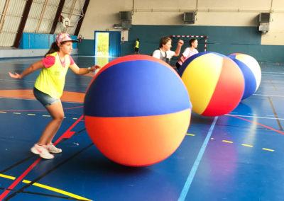 multi-sports activite kinball