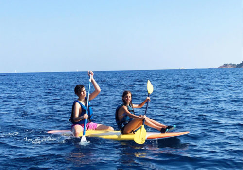 stage loisirs ados kayak
