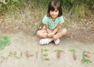 activites multi-sports enfants land art