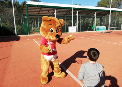 stage tennis padel enfants ados avec arcours