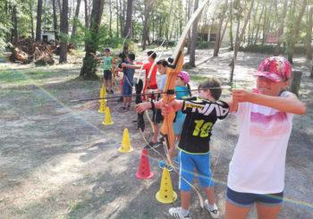 multi-sports tir a l arc